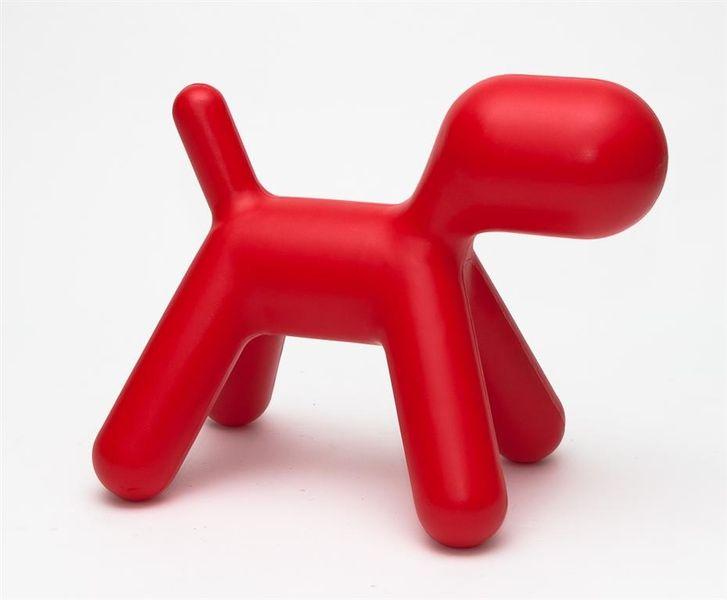 Siedzisko Pies czerwony D2 zdjęcie 1