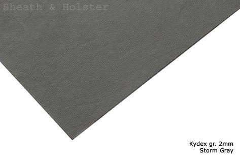 Kydex Storm Gray - 150x200mm gr. 2mm