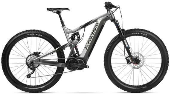 Kross Soil Boost 1.0 630 M 27 grf-czar poł rower elektryczny