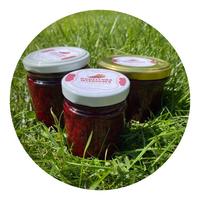 Konfitura wiśniowa - Dżem wiśniowy 100% naturalny 210ml