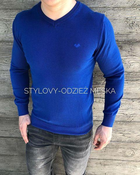 Swetry męskie w serek, z dekoltem w szpic sklep Stylovy.pl