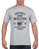 Koszulka męska KIEROWCA ZAMIAST KRWI BENZYNA  s M