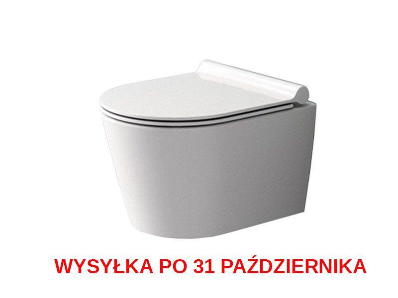 Misa WC Bezrantowa PORTER RIMLESS + Deska zdjęcie 1