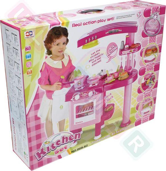 Dwustronna Kuchnia Dla Dzieci Ultimar Różowa