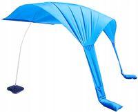 Parasol Plażowy Parawan Duży Składany Namiot z Bazą