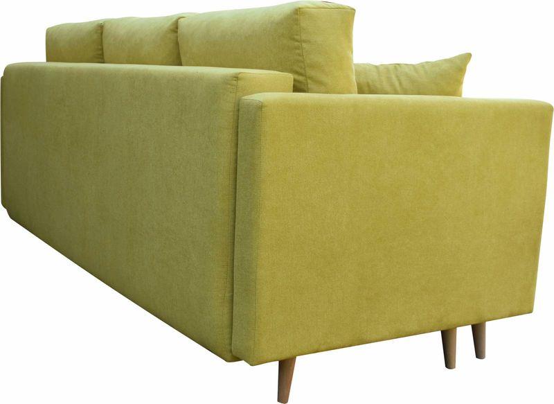 Kanapa rozkładana z funkcją spania na sprężynach, zmywalna sofa Lahti zdjęcie 9