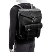 Ekskluzywny skórzany plecak męski McKlein Hagen Czarny zdjęcie 8