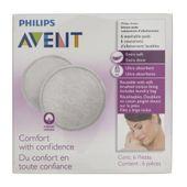 Philips Avent Wielorazowe wkładki laktacyjne - 6 sztuk