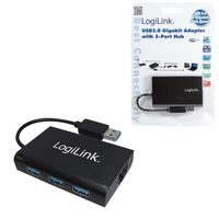 Adapter Logilink Gigabit Ethernet do USB 3.0 UA0173 HUB USB 3.0