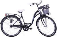 (K14) Rower miejski damski Kozbike 28 czarny