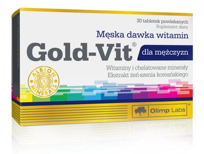 Gold-Vit kompleks witamin dla mężczyzn 30 tabletek