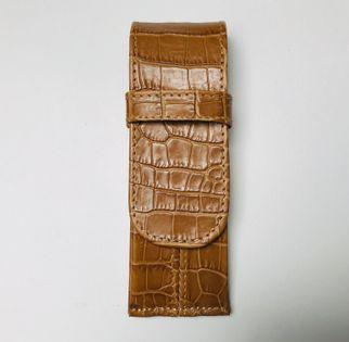 Etui skórzane na 5 piór lub długopisów - polskie - Lamato