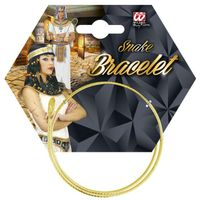 opaska bransoletka WĄŻ elegancka ZŁOTA egipska