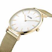 watch2love CLUSE LA BOHEME MESH GOLD WHITE CL18109 FVAT GWARANCJA zdjęcie 3