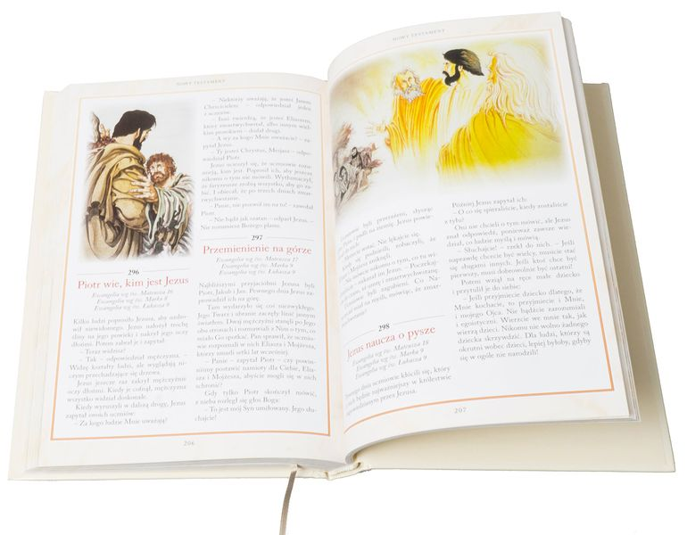 BIBLIA DLA DZIECI 365 HISTORII z grawerem PAMIĄTKA CHRZTU KOMUNII zdjęcie 7