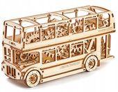 AUTOBUS PIĘTROWY LONDYŃSKI Mechaniczne Puzzle 3D Wooden City