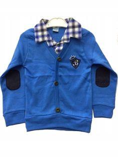 Bluzka chłopięca 2w1, bawełna roz.128