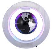 Lewitujący obracający się Globus magnetyczny podświetlany LED O151