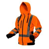 Bluza robocza ostrzegawcza sportowa kaptur stójka pomarańczowa  r.XL