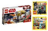 LEGO STAR WARS 75176 POJAZD TRANSPORTOWY + 2 KATAL