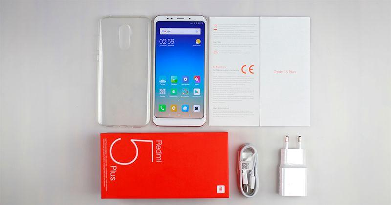 Xiaomi Redmi 5 Plus 4/64GB Niebieski EU LTE na Arena.pl