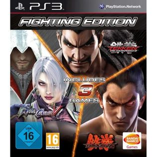 Fighting Edition (Tekken, Soul Calibur) - PS3