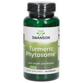 KURKUMA FITOSOM MERIVA Turmeric Phytosome 500 mg 60 kapsułek SWANSON zdjęcie 1