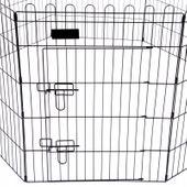 Kojec wybieg klatka 8 elem. dla psa królika 57x78 zdjęcie 4