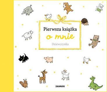 Pierwsza książka o mnie Dziewczynka