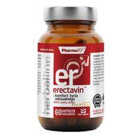 Erectavin z dodatkiem BioPerine 60 kapsułek Vcaps PharmoVit Herballine