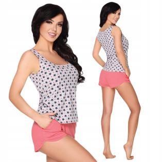 Piżama bawełniana top spodenki Nekesa L/XL