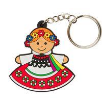 Brelok do kluczy  Krakowianka - tradycyjny strój ludowy
