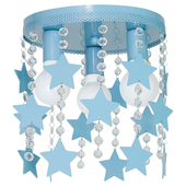 Plafoniera STAR 3xE27 Milagro kolor - Odcienie niebieskiego