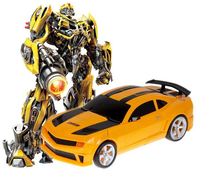 Transformer auto robot 2w1 Bumblebee zdalnie sterowany RC 2.4GHz U20 zdjęcie 6