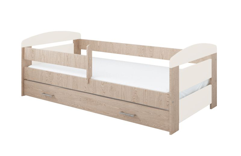 łóżko Kasia 160 X 80 Z Szufladą Barierka Ochronna Materac Gratis