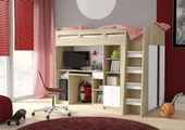 Łóżko Piętrowe dla dzieci, meble młodzieżowe antresola COMBI zdjęcie 3