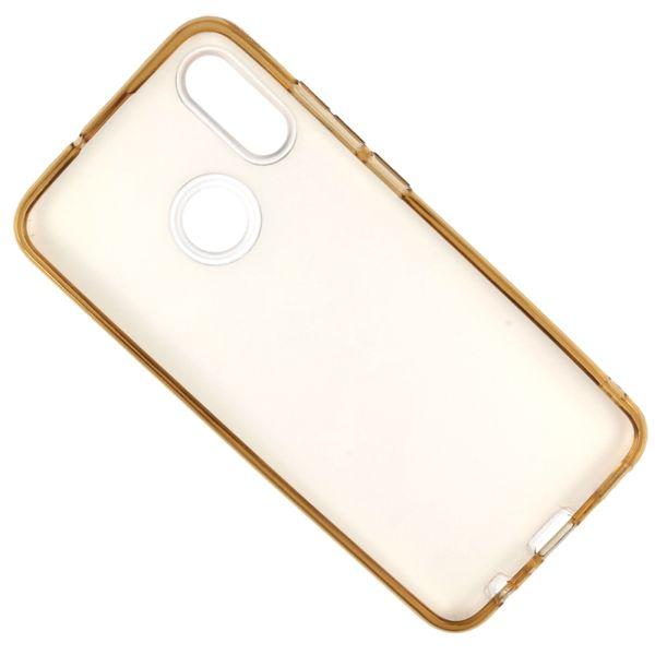 Etui Brokat Glitter Samsung Galaxy A7 2018 Złoty Kwiat zdjęcie 5