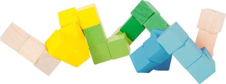 Kolorowy zestaw konstrukcyjny w kształcie kostki zdjęcie 2