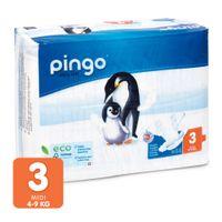Pieluszki Pingo Ultra Soft 3 MIDI 4-9kg 44szt.