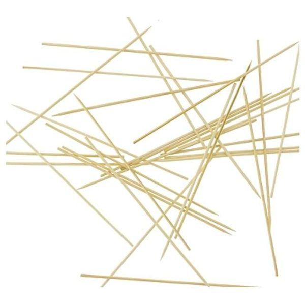 Długie i grube PATYCZKI do SZASZŁYKÓW 30 cm, 3 mm zdjęcie 2