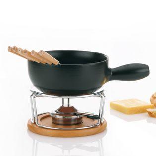 Zestaw do fondue serowego śred. 22,5 x 19 cm