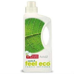 Płyn zmiękczający do tkanin o zapachu bawełny 1l Wash & feel eco