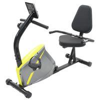Poziomy Rower Treningowy Z Pomiarem Tętna