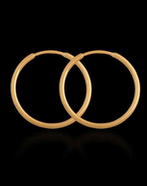 kolczyki złote KÓŁKA 1.2cm zdjęcie 4