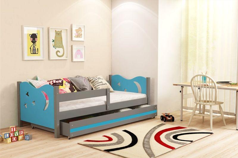 Łóżko łóżka Mikołaj dziecięce 160x80 parterowe + SZUFLADA zdjęcie 8