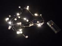 MIKRO LAMPKI NA BATERIE - PEREŁKI - CIEPŁE ŚWIATŁO