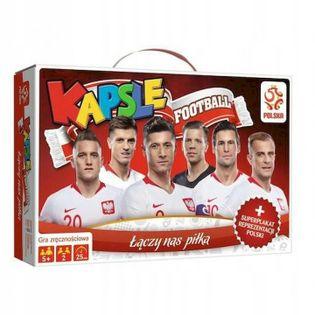 Gra zręcznościowa Kapsle PZPN piłka nożna piłkarze