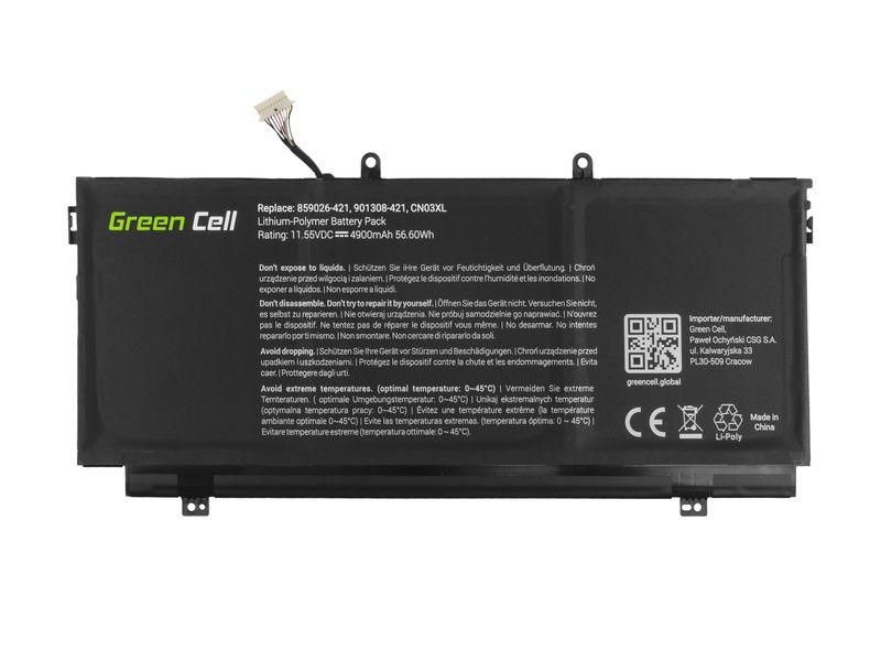 Green Cell Bateria do HP Envy 13 13T / 11,55V 4900mAh HP144 zdjęcie 4