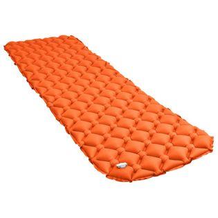 Dmuchany materac, 58x190 cm, pomarańczowy