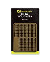 Ridge Monkey- Boilie Stops Natural - Brązowe stopery do przynęt